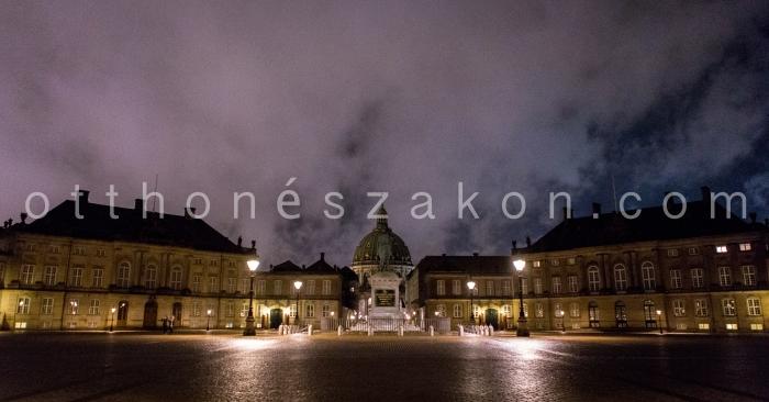 Amalienborg, a kiralyi palota
